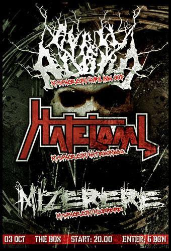 Avril in Blood / Hatebomb / Mizerere