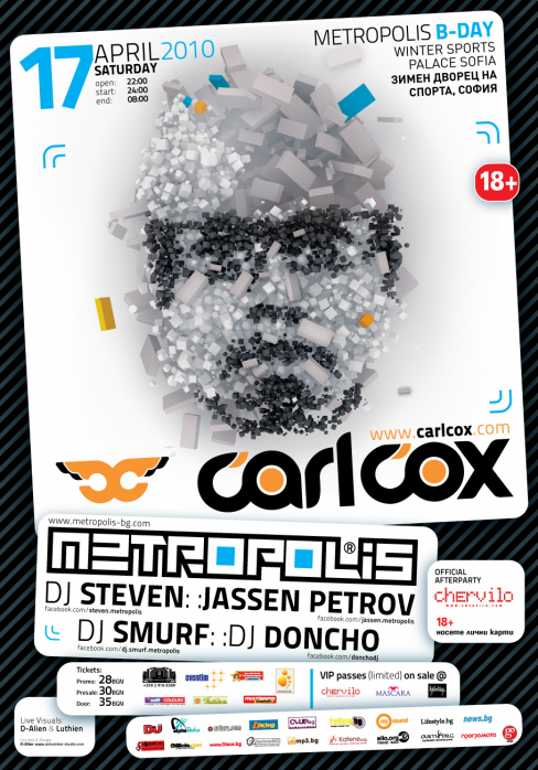 Carl Cox @ Metropolis Birthday
