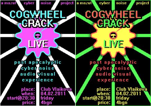Cogwheel Crack Live @ VLKV