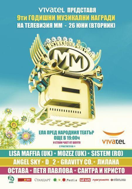 Годишни музикални награди на телевизия ММ