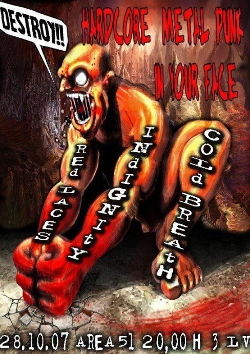 Hardcore metal punk in your face
