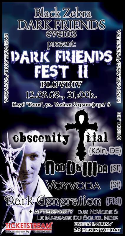 Dark Friends Fest II