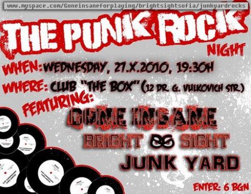 The Punk Rock Night