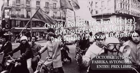 Chaviré / Die Angst / Dark Drizzle