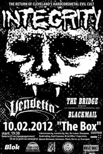 Integrity / Blackmail / Vendetta / The Bridge