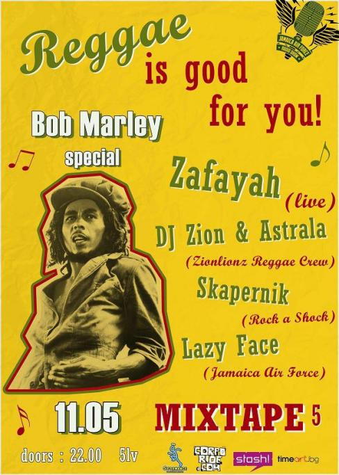 Reggae is good for you! (Bob Marley special)