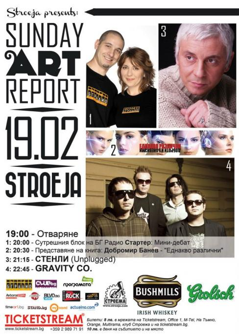 Sunday Art Report