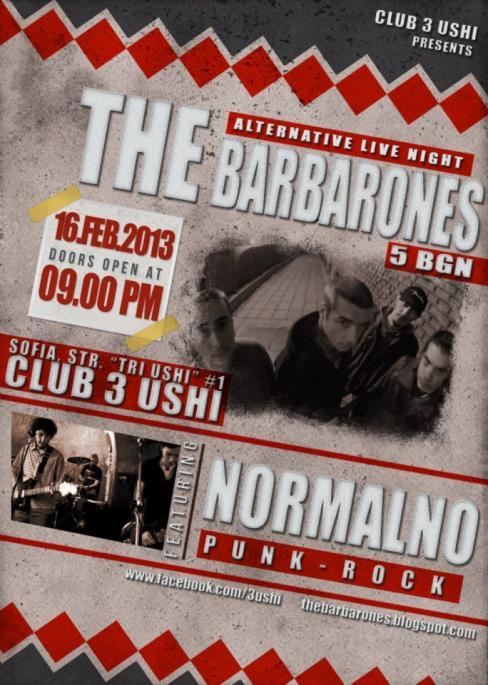 The Barbarones / Нормално