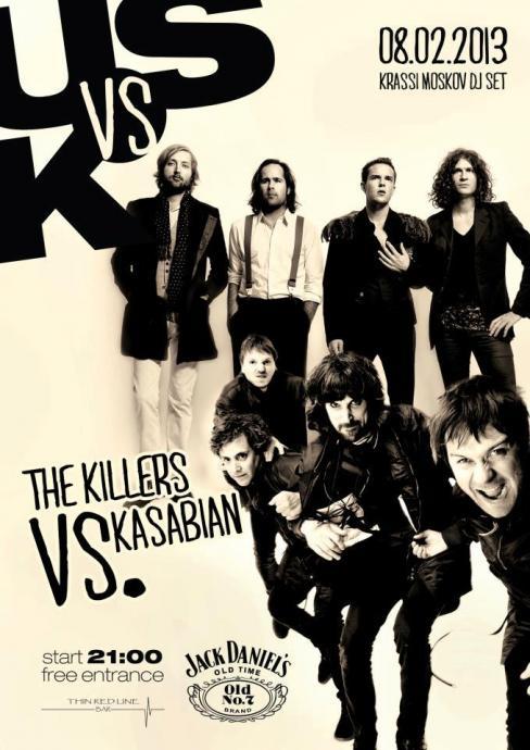 The Killers vs. Kasabian